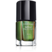 CoverGirl Outlast Stay Brilliant Nail Gloss, 50 Emerald Blaze, 10ml