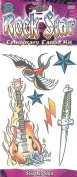 Rock Star Sold Our Souls 6pc Temporary Tattoo FX Costume Kit, 30cm