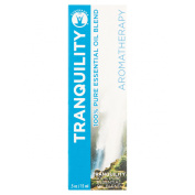 """GuruNanda Aromatherapy """"Tranquilly"""" 100% Pure and Natural Essential Oil Blend, .150ml"""