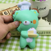LINGERY 2017 Arrival New Decompression Toys1PC Cute Chef Bear Soft Cartoon Doll Decompression Pressure Relief Soft Gifts