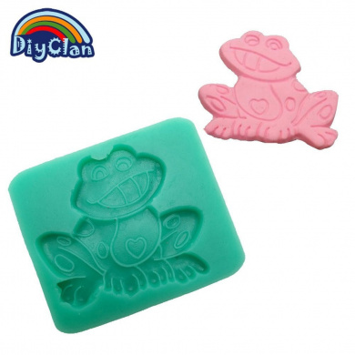 Diyclan Chocolate Mould frog style fondant cake form resin moulds cake decorating tools kitchen baking cake tools F0323QW35