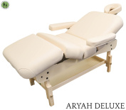 DevLon NorthWest stationery Massage Table + Beige + Spa Facial Bed Table + Archer Deluxe Series