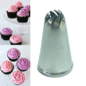 Russian Piping Tips Russian Piping Tips Set -Stainless Steel Drop Flower Tips Cake Nozzle Cupcake Sugar Crafting Icing Piping Nozzles Pastry Tool - Cake Tips