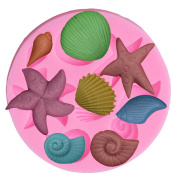 VWH Starfish Silicone Fondant Cake Moulds Chocolate Mould Kitchen Baking Tools