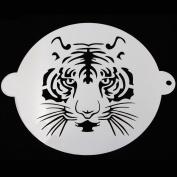 Sunglory 20cm Round Tiger Cake Stencils