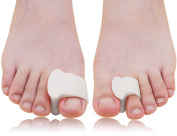 Dr. Foot's Bunion Toe Separators and Spreaders Relieve Pain from Bunions, Overlapping Toes and Toe Drift – 4 Pairs