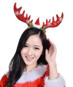 Christmas Headband,Outgeek Women's Fun-Filled Christmas & Holiday Party Reindeer Antler Headband Hair Band for Girls Women Ladies