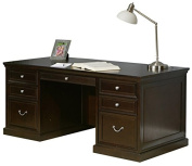 kathy ireland Home by Martin Fulton 180cm Double Pedestal Executive Desk - Fully Assembled