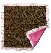 Carstens Baby Blanket, Leopard, 90cm x 90cm