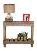 DAKODA LOVE - Rustic Barnwood Sofa Table, USA Handmade Reclaimed Wood