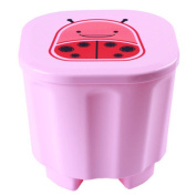 Liangxiang 1 PC Child Multi-function Cute Folding Footrest Stool Animal Style Storage Stool