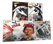 NEW 1:64 HOT WHEELS POP CULTURE COLLECTION - POP CULTURE 2016 K - MAD MAGAZINE ASSORTMENT 5 PIECE SET Diecast Model Car By HotWheels