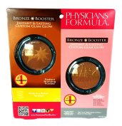 Physician Formula Dual Package Bronze Booster Instant and Lasting Glow Activator and Sun Protector Custom Glam Glow