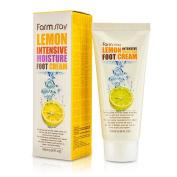 Farm Stay Korean Lemon Intensive Moisture Foot Creams for Dry Cracked Heels and Feet [ 100ml / 3.38oz ] 풋크림