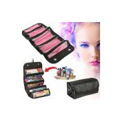 Cutting Edge Bargains Rolling Makeup Travel Bag