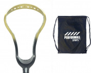 Harrow Lacrosse Womens P11 Lacrosse Head Unstrung with 1 Performall Sports Drawstring Bag