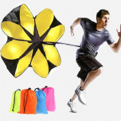 BetterM Hot Speed Running Power 140cm Sports Chute Resistance Exercise Runing Training Parachute