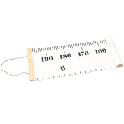 Kids Hanging Canvas Height Measurement Growth Chart Rulers Baby Room Classroom Nursery Wall Decor 200cm x 20cm