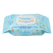 OnlyFresh Baby Wet Wipes Blue 80ct Pack
