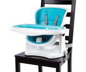 Ingenuity SmartClean ChairMate Chair Top High Chair, Aqua