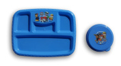 Paw Patrol Plastic Plate and Container with Lid Bundle Set
