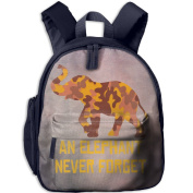A Brown Yellow Camouflage Elephant 14 School Bookbags For Children, Floral Backpack College Bags Daypack