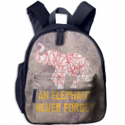 Red And White Stripes Camouflage Elephants 8 School Bookbags For Children, Floral Backpack College Bags Daypack