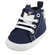 Kintaz Infant Toddler Baby Boy Girl Winter Lace-up Cartoon Prewalker Sneakers