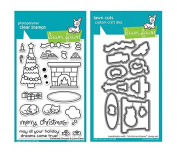 Lawn Fawn Clear Stamp & Die Set - Christmas Dreams