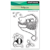 Penny Black Hedgy Joy Clear Unmounted Rubber Stamp Set