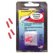 Rainbow BS-4-12 Slip-Eze Bobber Stop with Bead, 0.9-5.4kg, Test Line
