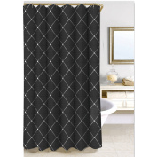 Homewear Wellington Shower Curtain Collection, Black