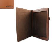 Sanoxy Slim FOLIO Folder PU Leather Stand Case for iPad Air / iPad 5 /5th Generation, Brown