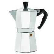 LavoHome Premium Italian 6 Cup Stovetop Espresso Coffee Maker, Aluminium