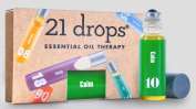 21 Drops - Organic / Wildcrafted Roll-On Essential Oil Blend Deluxe Sample