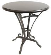 Pastel Furniture AH-520 Bar Table, Patina Moss/Kona, 90cm