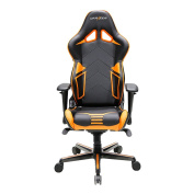 DXRacer Racing Series DOH/RV131/NO Office Chair Gaming Chair Carbon Look Vinyle Ergonomic Computer Chair eSports Desk Chair Executive Chair Furniture with Free Cushions