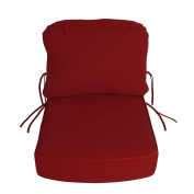 Sunbrella Outdoor DEEP SEATING CHAIR CUSHION BOXED & WELTED by Comfort Classics Inc.