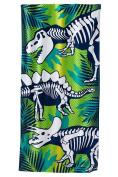 Jumping Beans Dino Skeletons Beach Towel