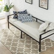 Zinus Quick Lock 80cm Wide Day Bed Frame and Foam Mattress Set