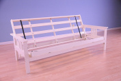 Monterey Futon Frame in Antique White Finish