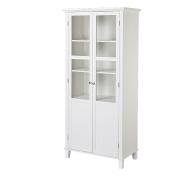 Homestar 2 Door Storage Cabinet, White