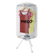 Pifco P38003 Heated Clothes Dryer, Suitable for All Fabrics, 1000 W