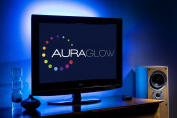 Auraglow Colour Changing 100cm 5v LED Strip USB TV Back Light Lighting Kit