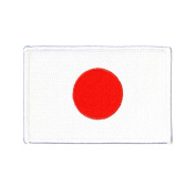 Japan National Flag Iron-On Patch DIY Japanese Culture Craft Decoration Applique