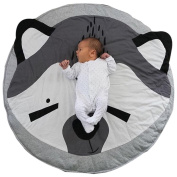 Baby Animal Cartoon Play Mat Infant Creeping Mat Blanket Play Game Mat ,Nice Room Decoration,Protect Baby Safe-MOONHOUSE