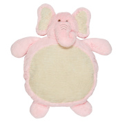 Supersoft and Cuddly Plush Pink Elephant Baby Play Mat 90cm