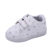 YJYdada Baby Children Toddler Sneakers LED Luminous Colourful Light Shoes