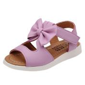 YJYdada Children Kids Girls Bowknot Sandals Pricness Shoes Summer
