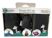 Compact Shopping Cart & High Chair Cover with Bonus Travel Essentials